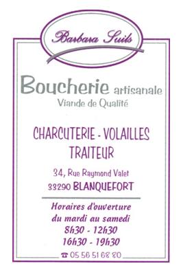 Boucherie Suy